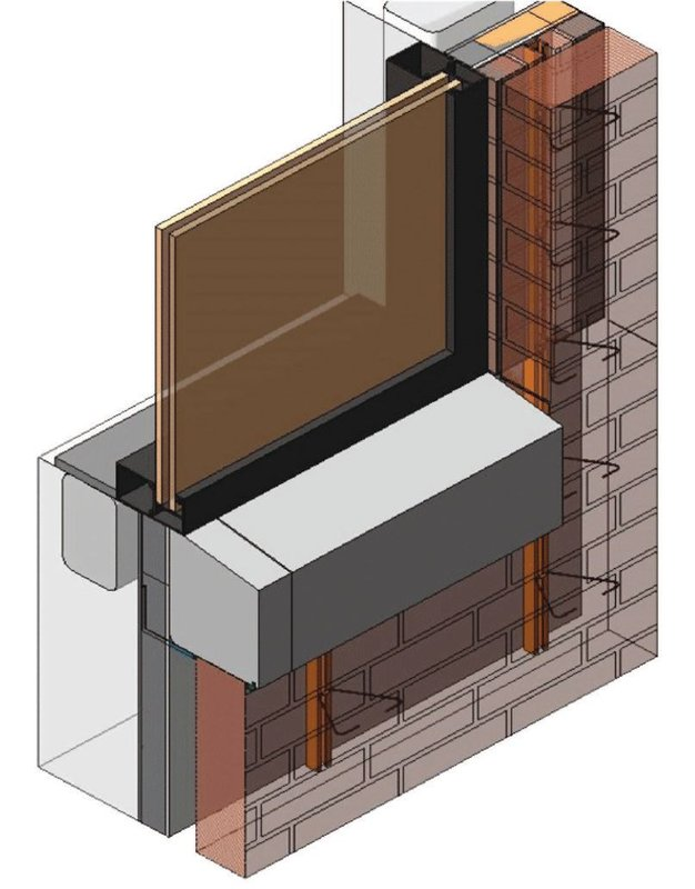3-D Views in the CTC models are actually three-dimensional. Images representing modified two-dimensional detail items have the area highlighted in a transparent pink.